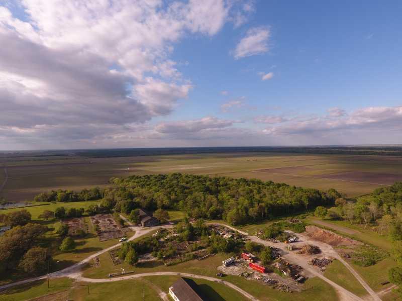 Drone Photo Mathews LA