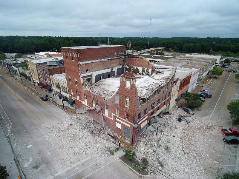 Drone Photo McComb MS