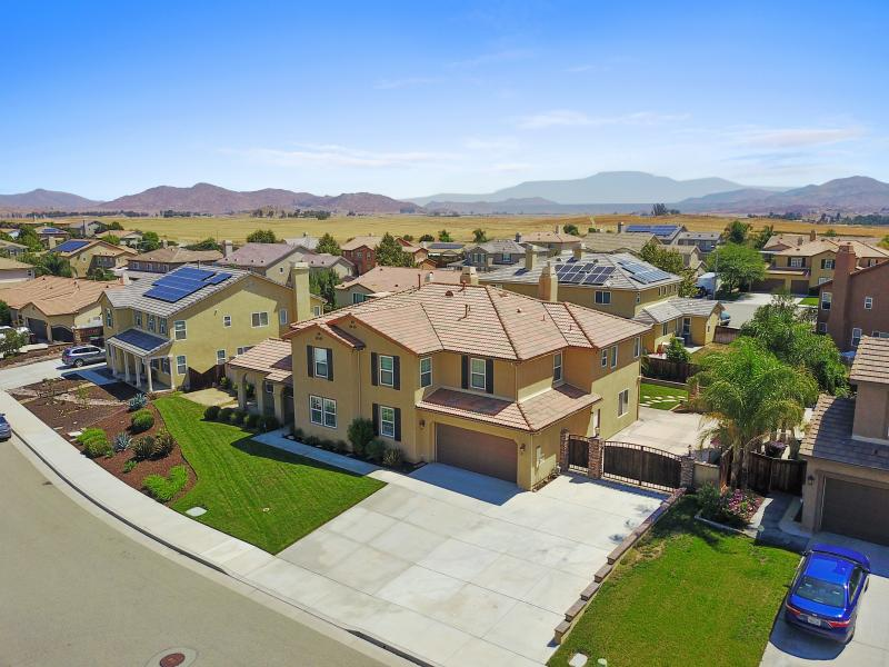 Drone Photo Menifee CA