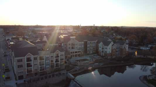Drone Photo Menomonee Falls WI