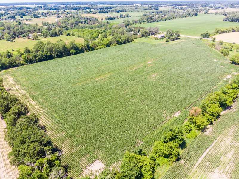 Drone Photo Meridian Charter Township MI