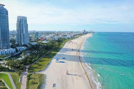 Drone Photo Miami Beach FL