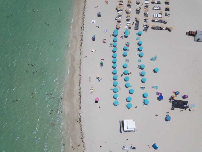 Drone Photo Miami Beach FL