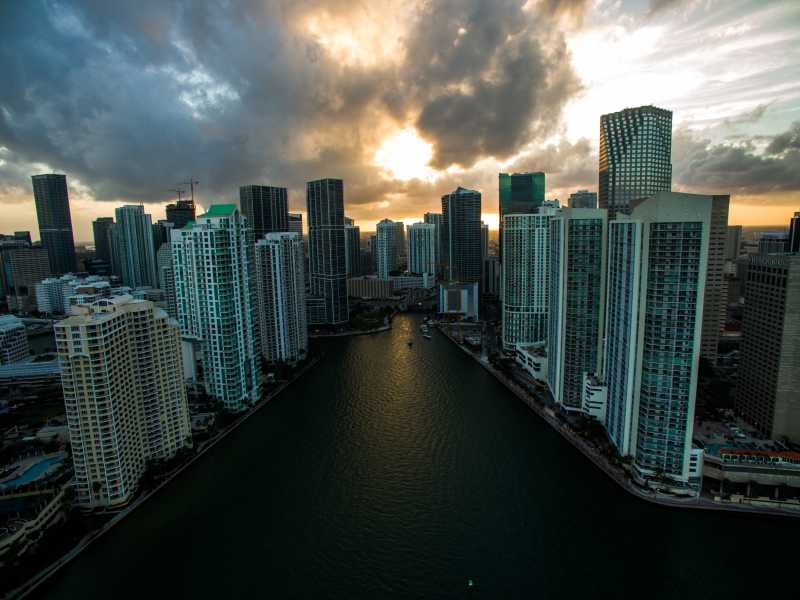 Drone Photo Miami FL