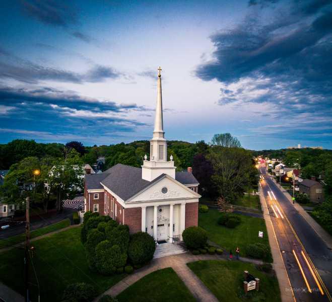 Drone Photo Milton MA