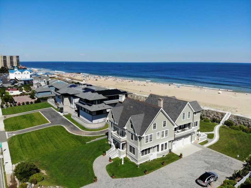 Drone Photo Monmouth Beach NJ