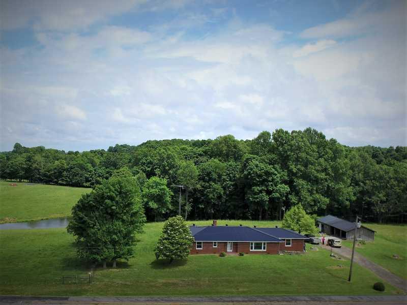 Drone Photo Monroe County KY