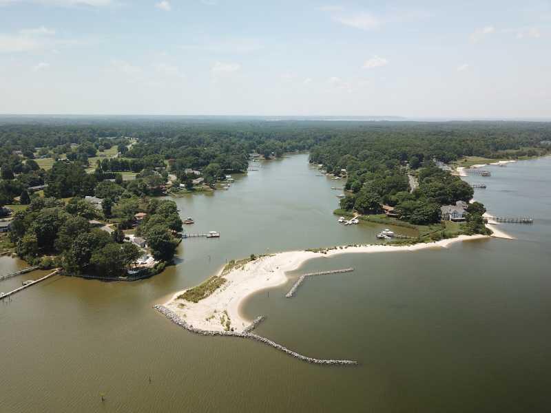 Drone Photo Montross VA