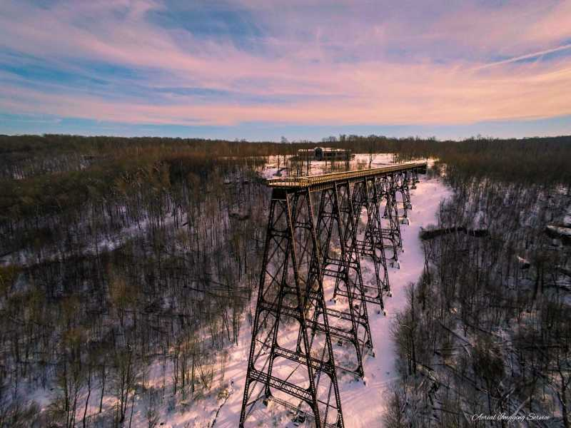Drone Photo Mt Jewett PA