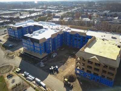 Drone Photo Mt Laurel Township NJ