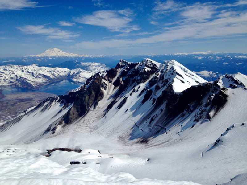 Drone Photo Mt St Helens Wa
