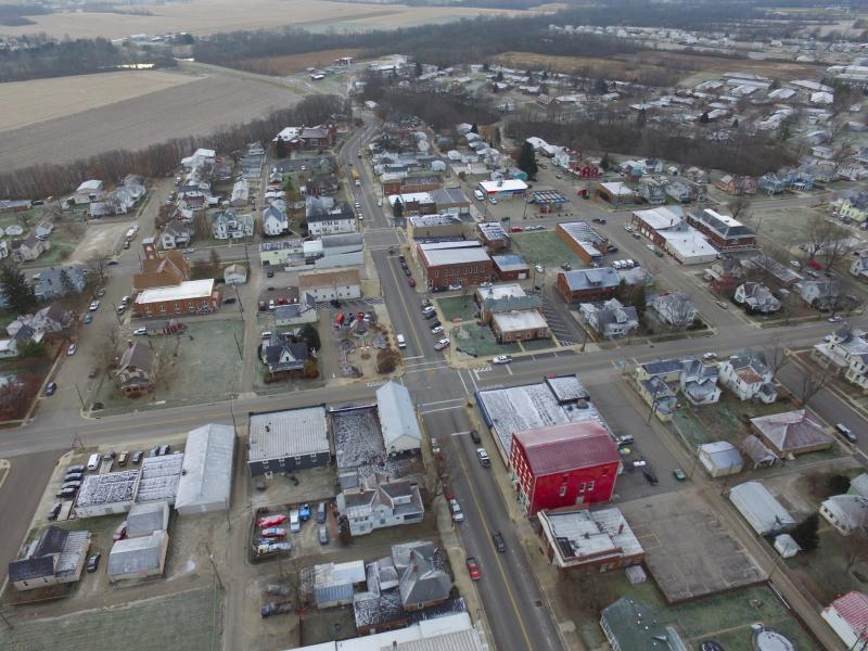 Drone Photo Mt Sterling OH