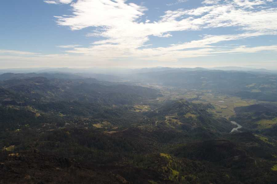 Drone Photo Napa CA