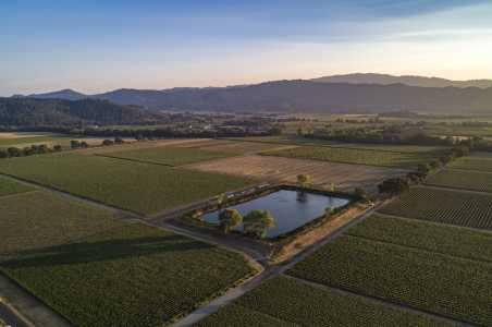 Drone Photo Napa County CA