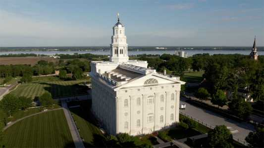 Drone Photo Nauvoo IL