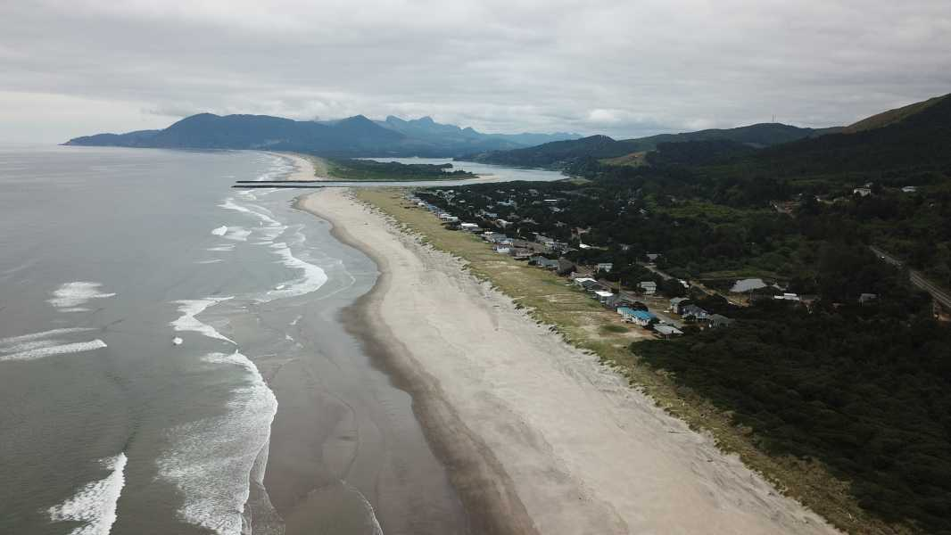 Drone Photo Nedonna Beach OR