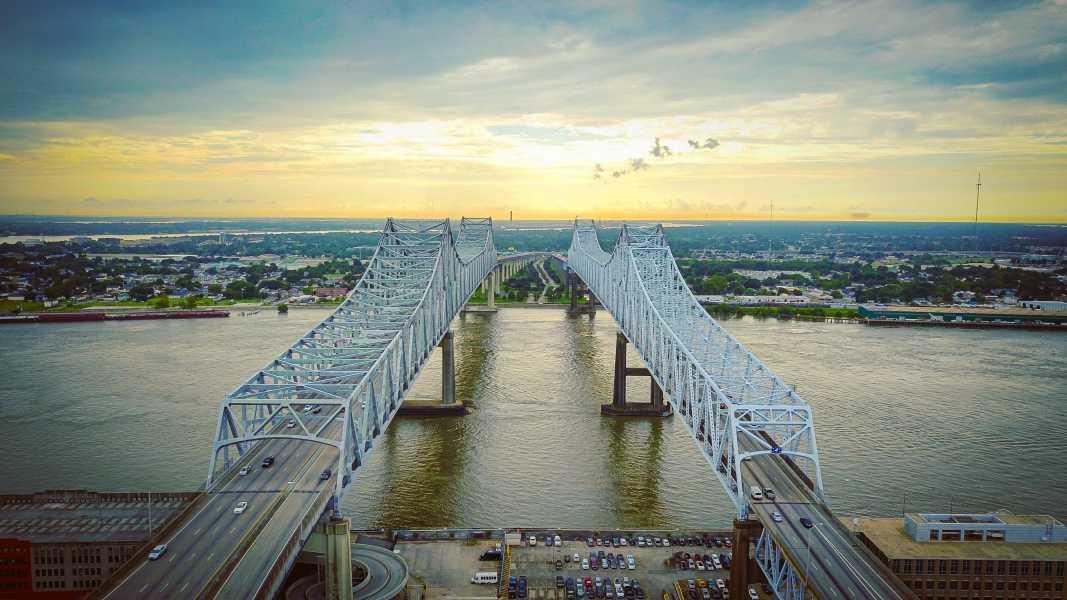 Drone Photo New Orleans LA