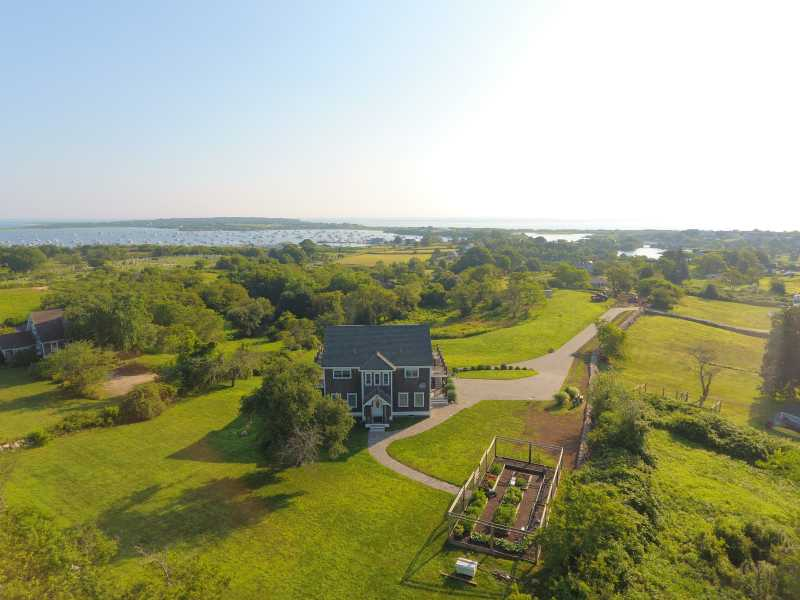 Drone Photo New Shoreham RI