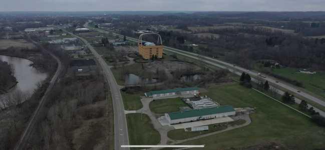 Drone Photo Newark OH