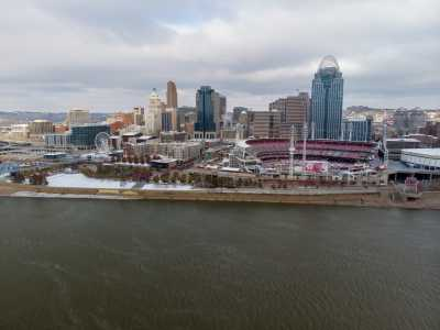 Drone Photo Newport KY
