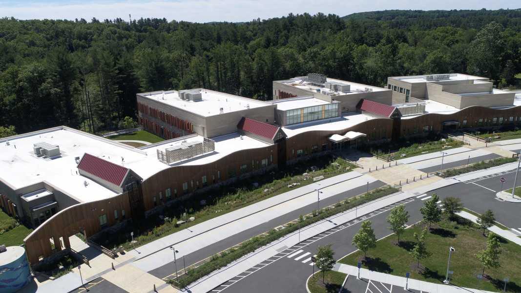 Drone Photo Newtown CT