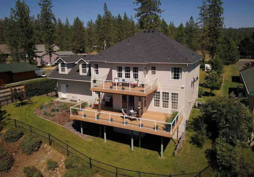 Drone Photo Nine Mile Falls WA