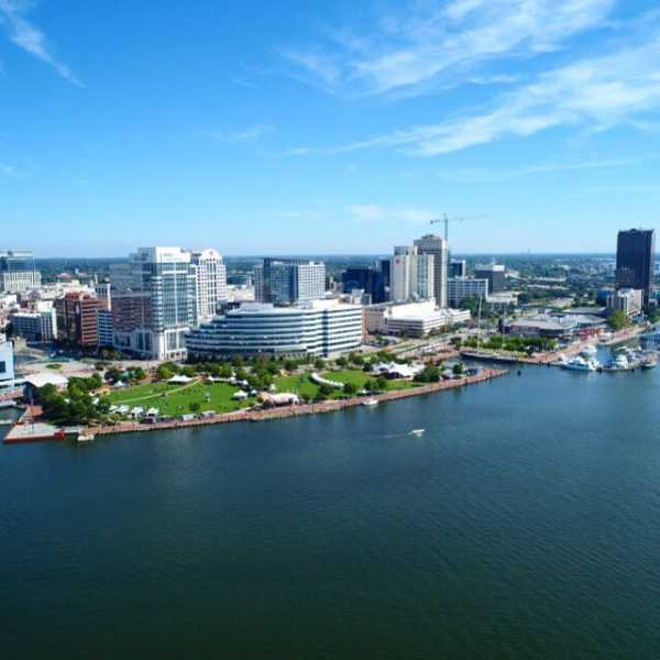 Drone Photo Norfolk VA