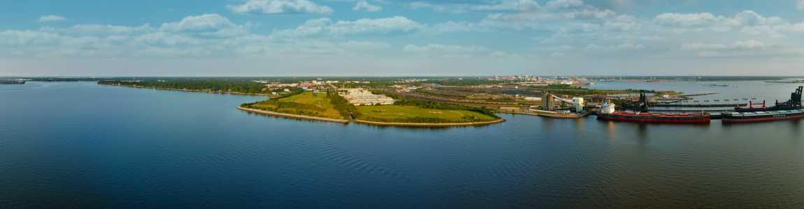 Drone Photo Norfolk VA
