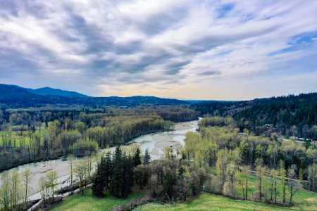 Drone Photo North Bend WA