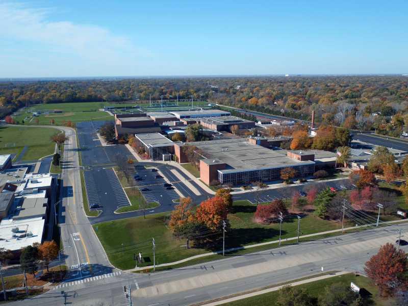 Drone Photo Northbrook IL