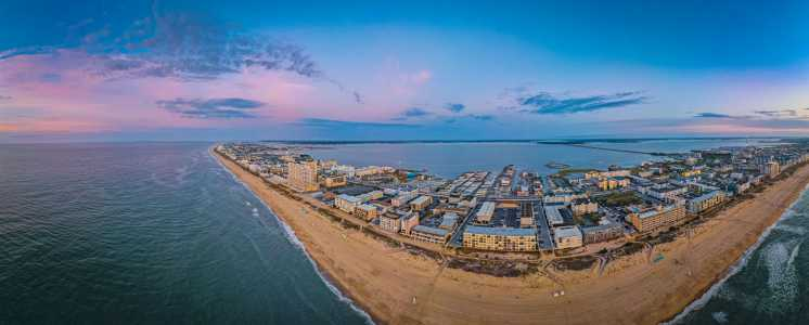 Drone Photo Ocean City MD