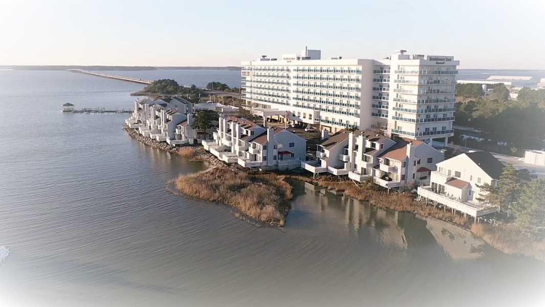 Drone Photo Ocean City MD