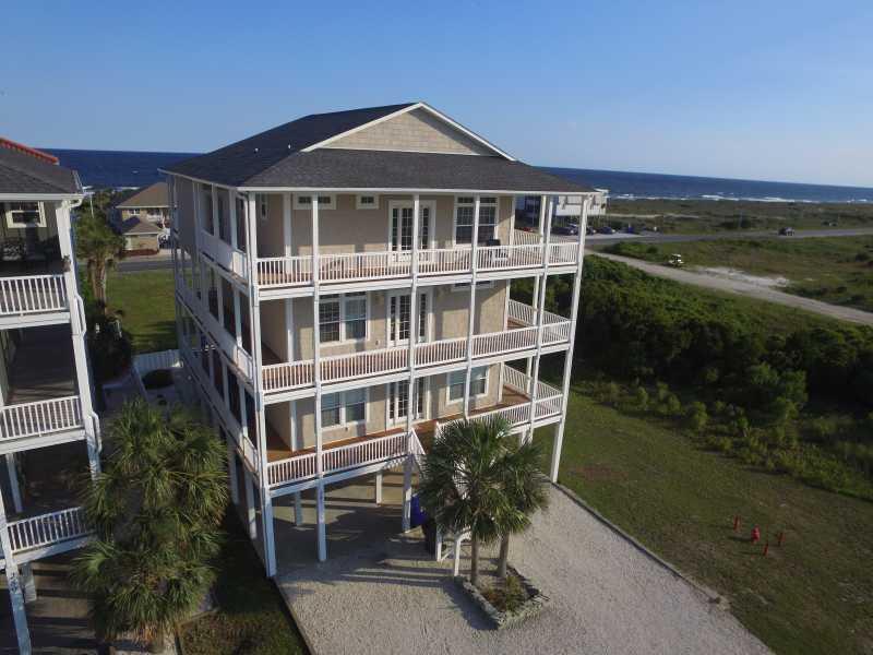 Drone Photo Ocean Isle Beach NC
