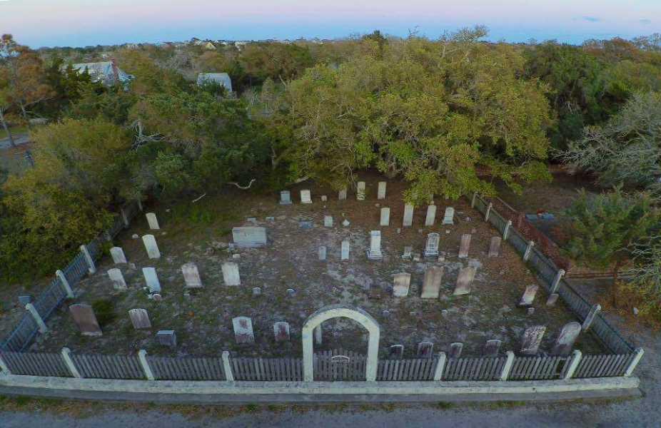 Drone Photo Ocracoke NC