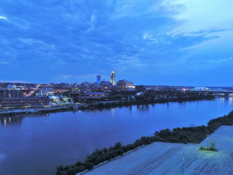 Drone Photo Omaha NE