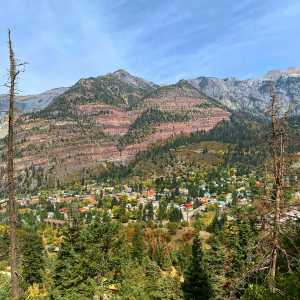 Drone Photo Ouray CO
