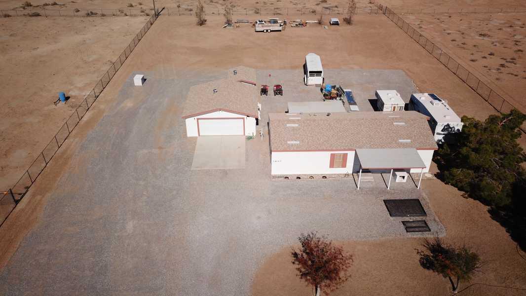 Drone Photo Pahrump NV