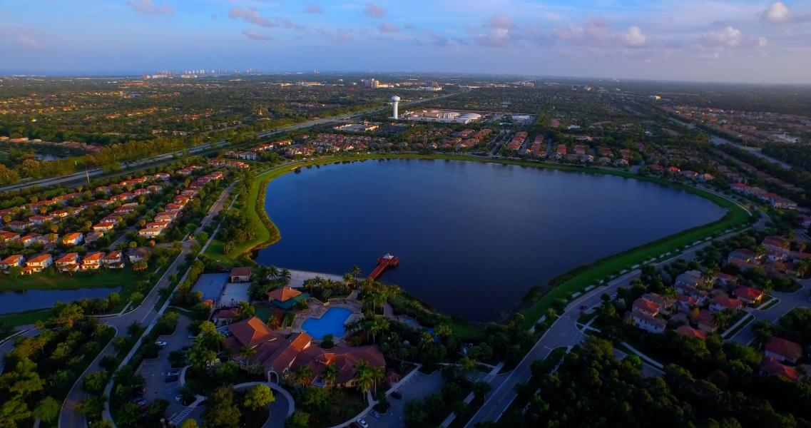 Drone Photo Palm Beach Gardens FL