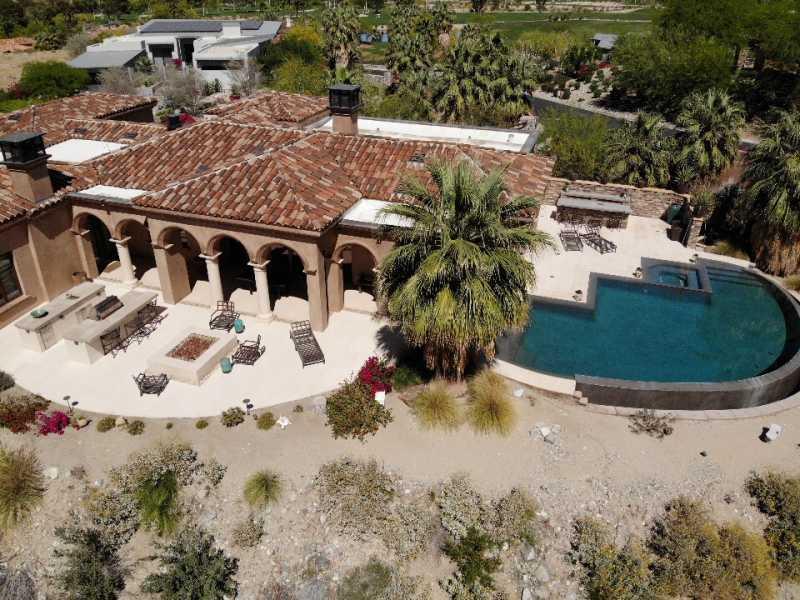 Drone Photo Palm Desert CA