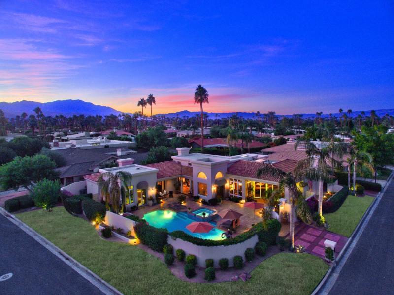 Drone Photo Palm Springs CA