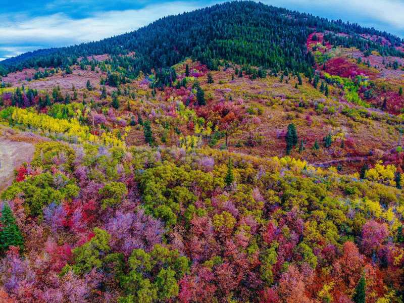 Drone Photo Park City UT