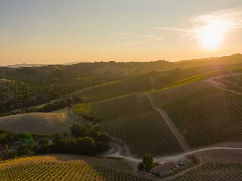 Drone Photo Paso Robles CA