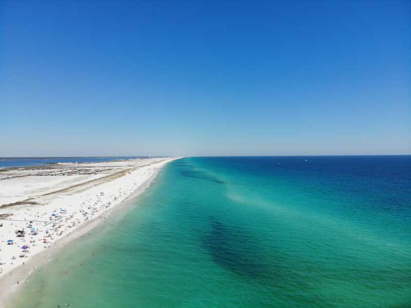 Drone Photo Pensacola Beach FL