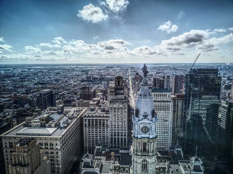 Drone Photo Philadelphia PA
