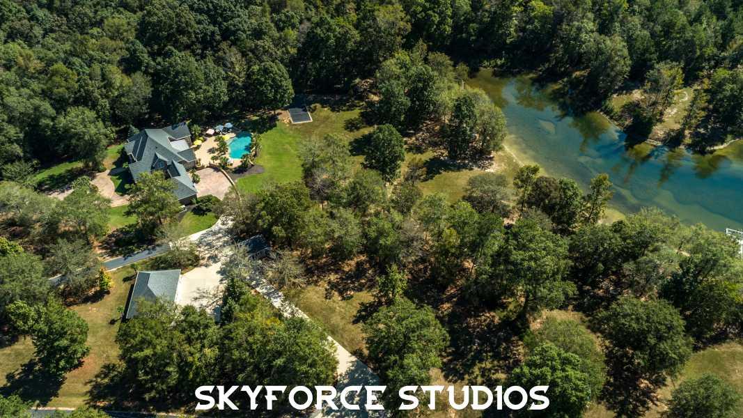 Drone Photo Pike County GA