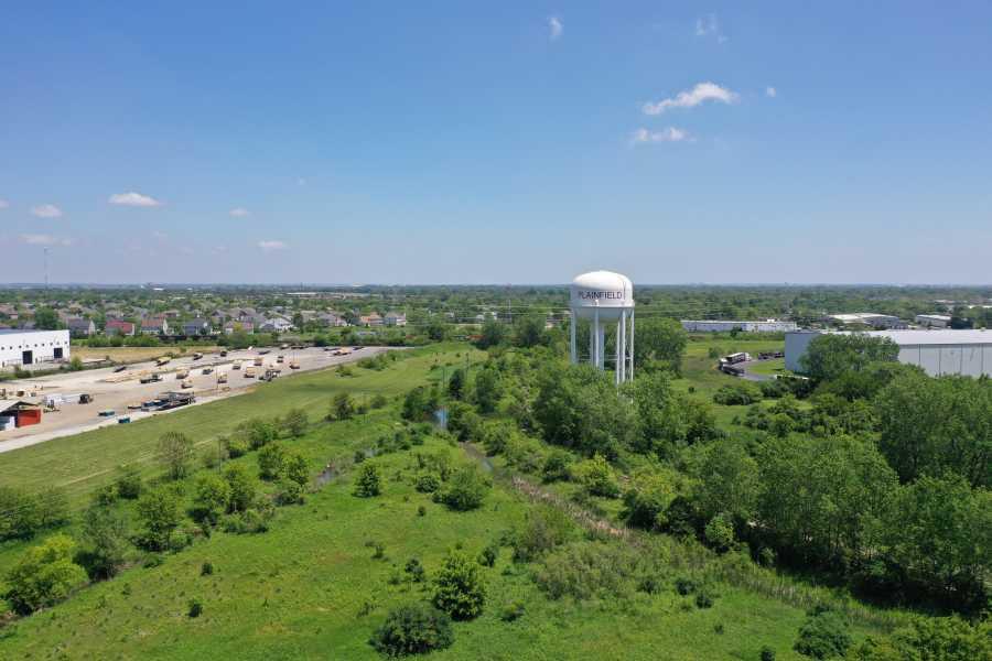 Drone Photo Plainfield IL