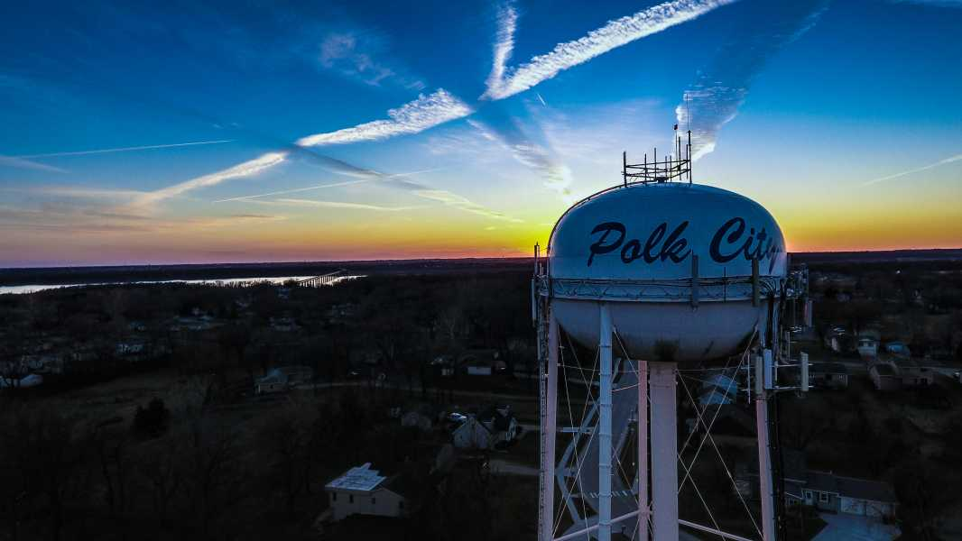 Drone Photo Polk City IA