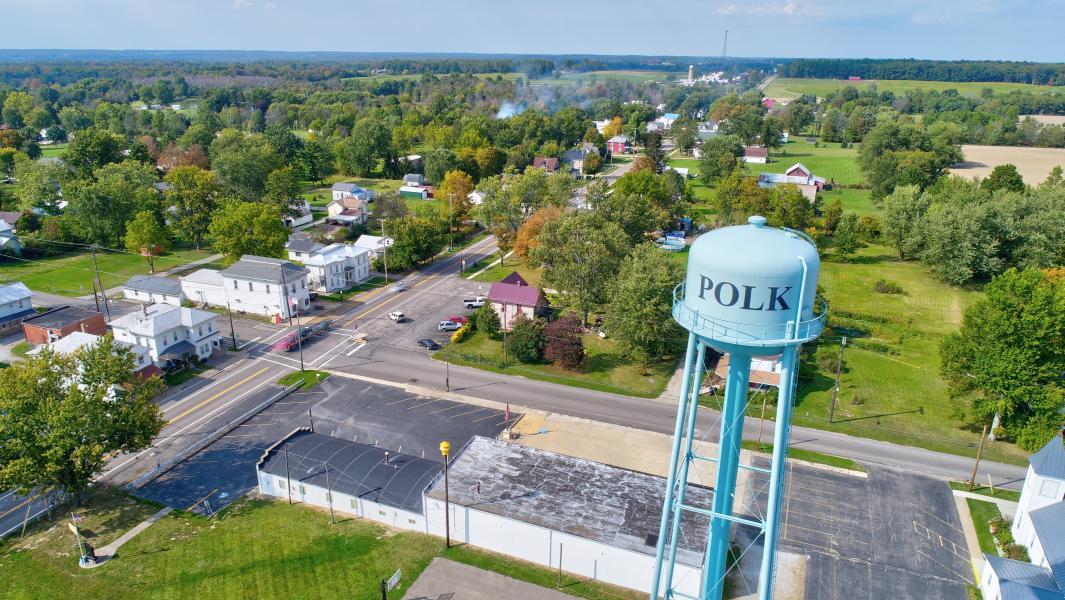 Drone Photo Polk OH