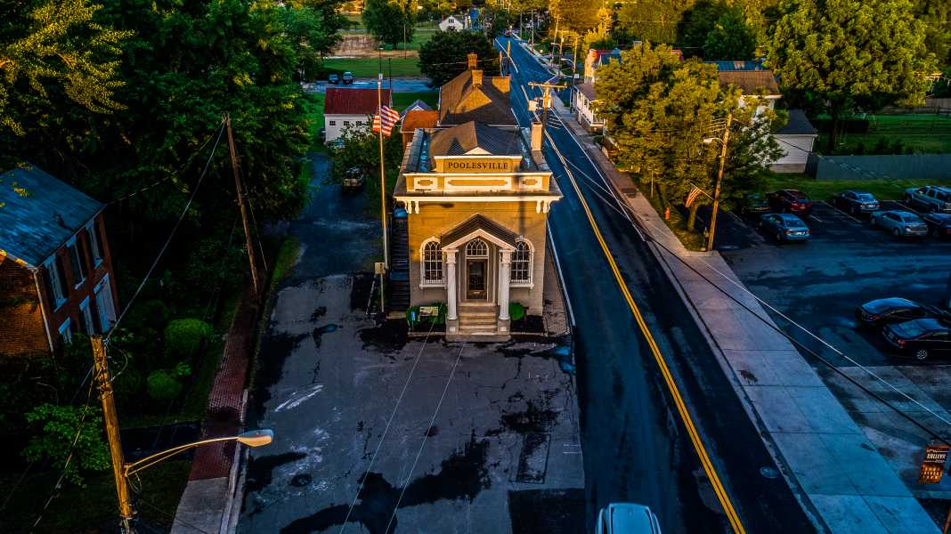 Drone Photo Poolesville MD