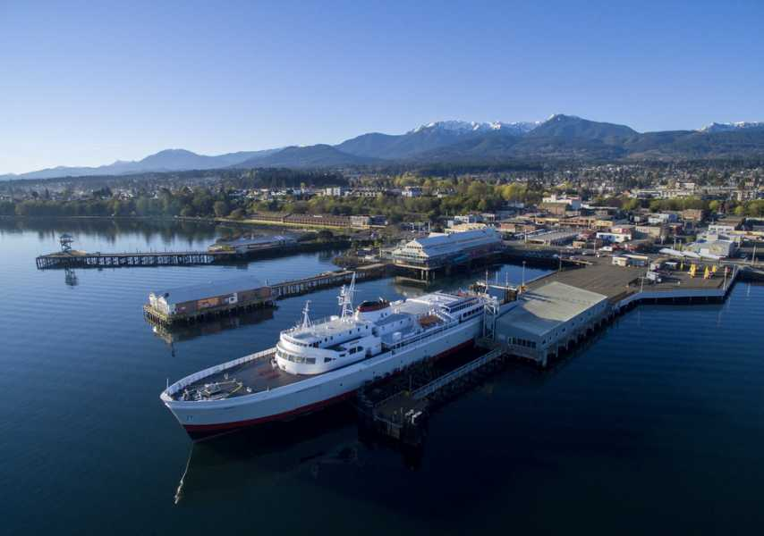 Drone Photo Port Angeles WA